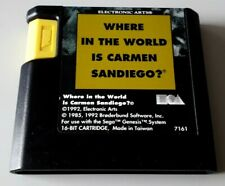 Covers Where in the World is Carmen Sandiego? megadrive_pal