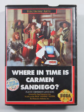 Covers Where in Time is Carmen Sandiego? megadrive_pal