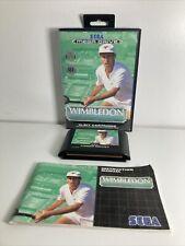 Covers Wimbledon Championship Tennis megadrive_pal