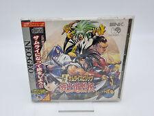 Covers Samurai Shodown RPG neogeo
