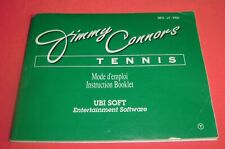 Covers Jimmy Connors Tennis  nes