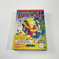 Covers Simpsons : Bart Vs. the World nes