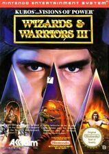 Covers Wizards & Warriors III Kuros : Visions of Power nes