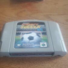 Covers J-League Dynamite Soccer 64 nintendo64