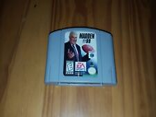 Covers Madden NFL 99 nintendo64