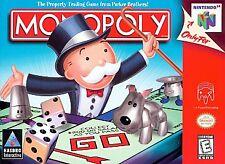 Covers Monopoly nintendo64