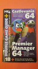 Covers Premier Manager 64 nintendo64