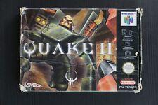 Covers Quake II nintendo64