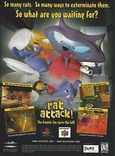 Covers Rat Attack nintendo64