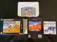 Covers Star Wars: Rogue Squadron nintendo64