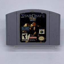 Covers StarCraft 64 nintendo64