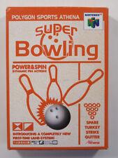 Covers Super Bowling nintendo64