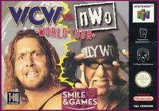Covers WCW vs. nWo: World Tour nintendo64