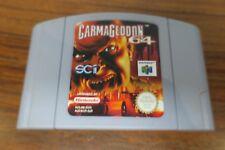 Covers Carmageddon 64 nintendo64