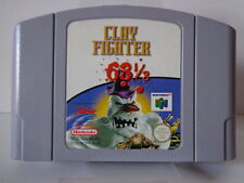 Covers ClayFighter 63 1/3 nintendo64