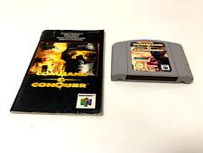 Covers Command & Conquer nintendo64