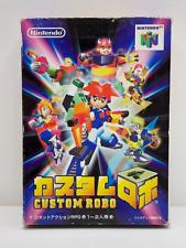 Covers Custom Robo nintendo64