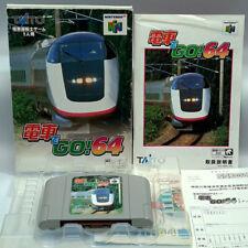 Covers Densha de Go! 64 nintendo64
