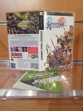 Covers Dissidia: Final Fantasy psp