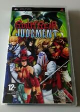 Covers Guilty Gear Judgment psp