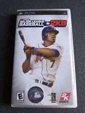 Covers Major League Baseball 2K8 psp