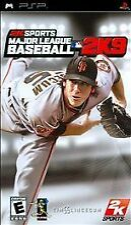 Covers Major League Baseball 2K9 psp