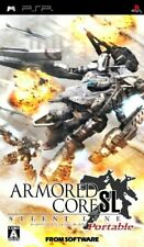 Covers Armored Core: Silent Line Portable psp
