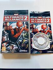 Covers Marvel: Ultimate Alliance 2 psp