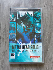 Covers Metal Gear Solid: Digital Graphic Novel psp