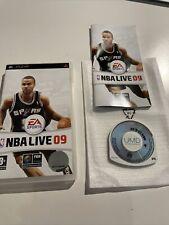 Covers NBA Live 09 psp
