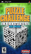 Covers Puzzle Challenge: Crosswords and More! psp