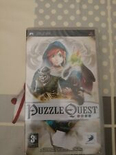 Covers Puzzle Quest: Challenge of the Warlords psp
