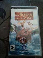 Covers Les Rebelles de la forêt psp