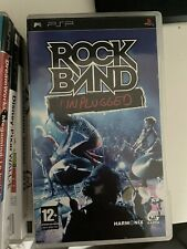 Covers Rock Band Unplugged psp