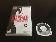 Covers Scarface: Money. Power. Respect. psp