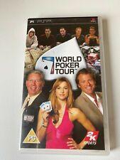 Covers World Poker Tour psp