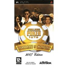 Covers World Series of Poker: Tournament of Champions psp