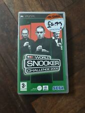 Covers World Snooker Challenge 2005 psp