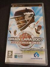 Covers Brian Lara 2007: Pressure Play psp