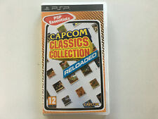 Covers Capcom Classics Collection Reloaded psp