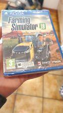 Covers Farming Simulator 18 psvita_eu