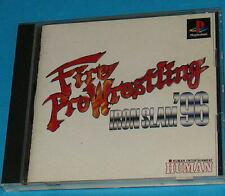 Covers Fire Pro Wrestling: Iron Slam