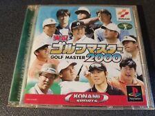 Covers Jikkyou Golf Master 2000 psx