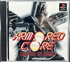 Covers Armored Core: Master of Arena psx