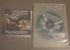 Covers Star Wars Episode I : Jedi Power Battles psx