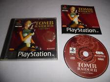 Covers Tomb Raider II psx