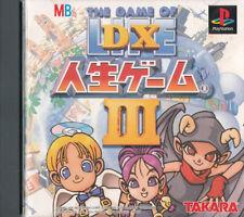 Covers DX Jinsei Game III psx