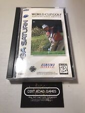 Covers World Cup Golf: Professional Edition saturn