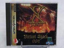 Covers X Japan Virtual Shock 001 saturn