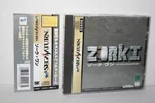 Covers Zork I: The Great Underground Empire saturn